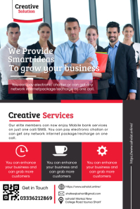Business Promotion Poster template