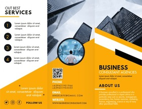 Business Development Marketing Agency Brochur Flyer (US Letter) template