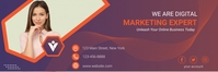 Business email header template