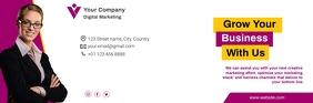 Business Email Header template E-Mail-Überschrift