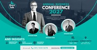 Business Event | Conference Ad auf Facebook geteiltes Bild template