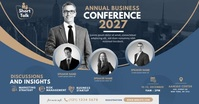 Business Event | Conference Ad Facebook 共享图片 template