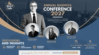 Business Event | Conference Advert Post di Twitter template