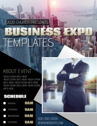 BUSINESS EXPO AD TEMPLATE Flyer (US Letter)
