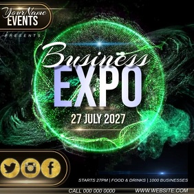 BUSINESS EXPO AD TEMPLATE Instagram Post