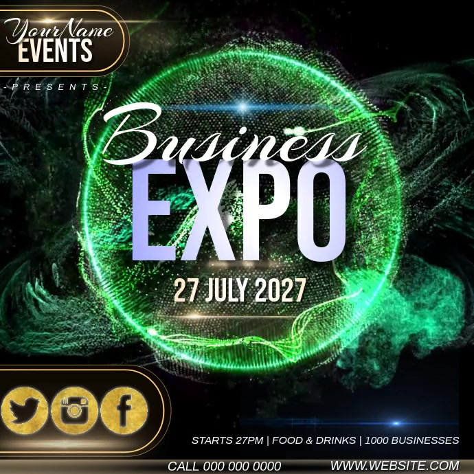 BUSINESS EXPO AD TEMPLATE Pos Instagram
