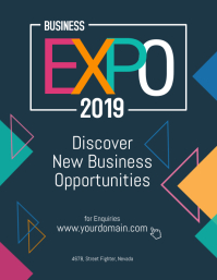 Business Expo Event Poster Flyer