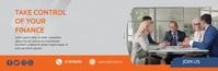 Business Finance Video email header template Isihloko Se-imeyili