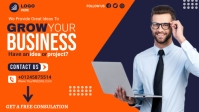 business flyer design Video Sampul Facebook (16:9) template