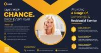 business flyer design Facebook-advertentie template