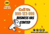 Business flyer A2 template