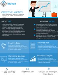 Business Flyer 传单(美国信函) template
