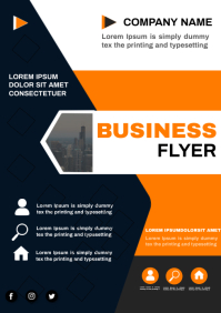 business flyer A4 template