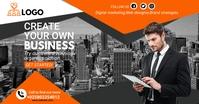 business flyer design Isithombe Esabiwe ku-Facebook template