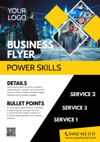 Business Flyer Marketing Poster Services Ad A4 template