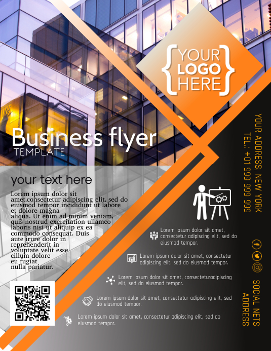 Business Flyer Poster