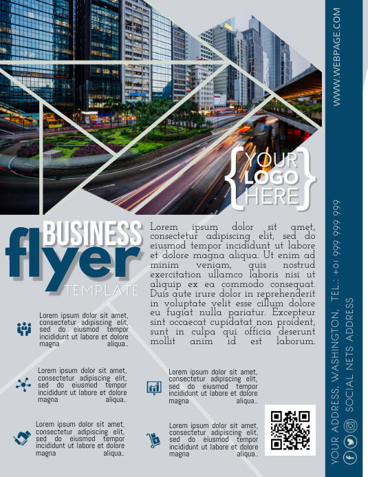 Business Flyer Poster template