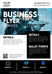 Business Flyer Services Brochure Company Ad