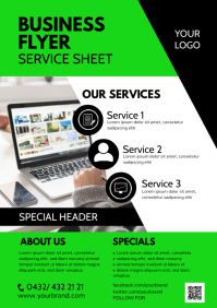 Business Flyer Services Offer Professional Ad