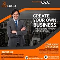 business flyer template Instagram Post