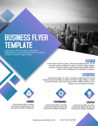 Business flyer template