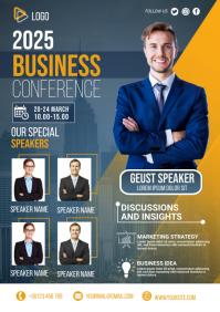 business flyer template A3