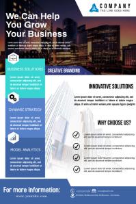 Business Flyer Template Plakkaat