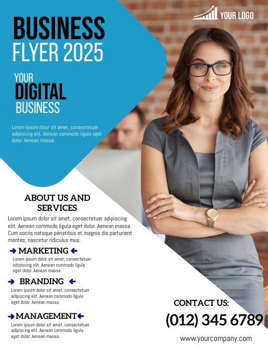 Business Flyer Template Pamflet (VSA Brief)