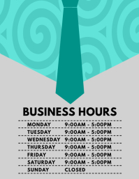 Customizable design templates for opening hours postermywall business hours flyer friedricerecipe Image collections
