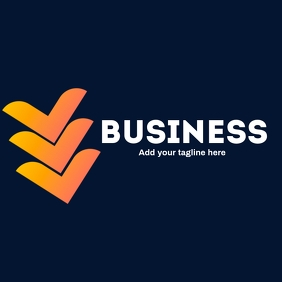 Business icon logo with 3vs as main icon
