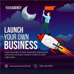 Business Launching Guide Instagram 帖子 template