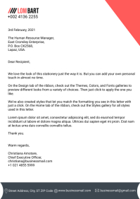 Business Letterhead Template A4