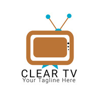 Business Logo Template for TV Stations