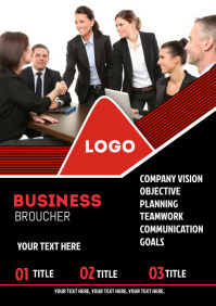 Business management corporate flyer
