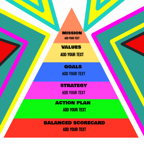 Business Management Planning Strategy GOAL Flyer Poster
