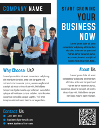 Business Marketing Flyer Template Design