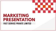 Business Marketing presentation Title template