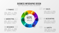 Business Modern New infographic concept Digital na Display (16:9) template