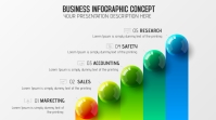 Business Modern New infographic concept Digital Display (16:9) template
