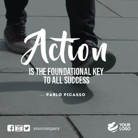Business Motivation Quotes Instagram Facebook template