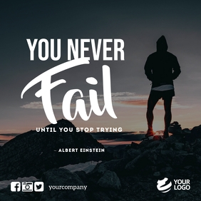 Business Motivation Quotes Instagram Facebook Instagram-opslag template