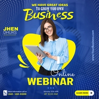 Business Online Webinars template