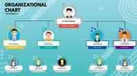 Business Organization Display digitale (16:9) template