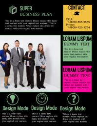 Customizable design templates for business plan postermywall business plan friedricerecipe Images