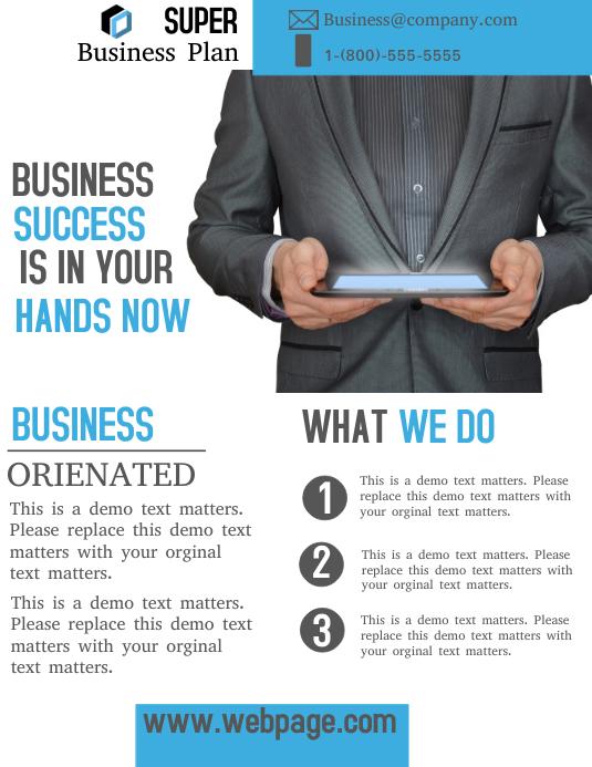 Custom publishing business plan