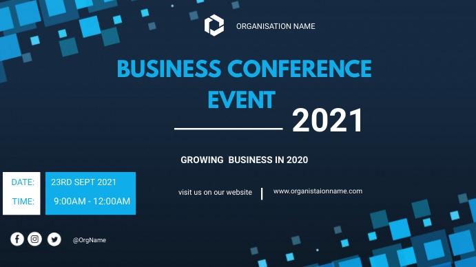 Business Poster Presentación (16:9) template