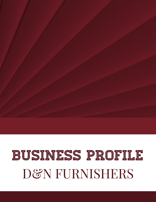 Business Profile (Furnishers Industry)