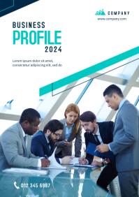 Business Profile Template A4