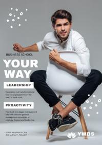Business School Course Magazine Ad