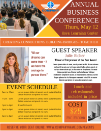 Business Seminar Conference Event Template